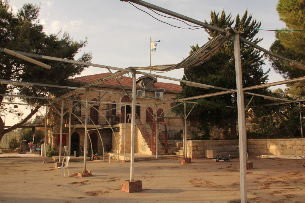 The Bet Orot yeshiva on the Mount of Olives, financed by Miami-based businessman Irving Moskowitz and his wife Cherna - Uri Blau